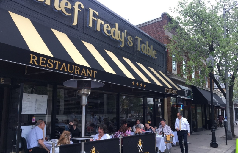 Chef Freddy's Table Morris County Restaurants New Jersey