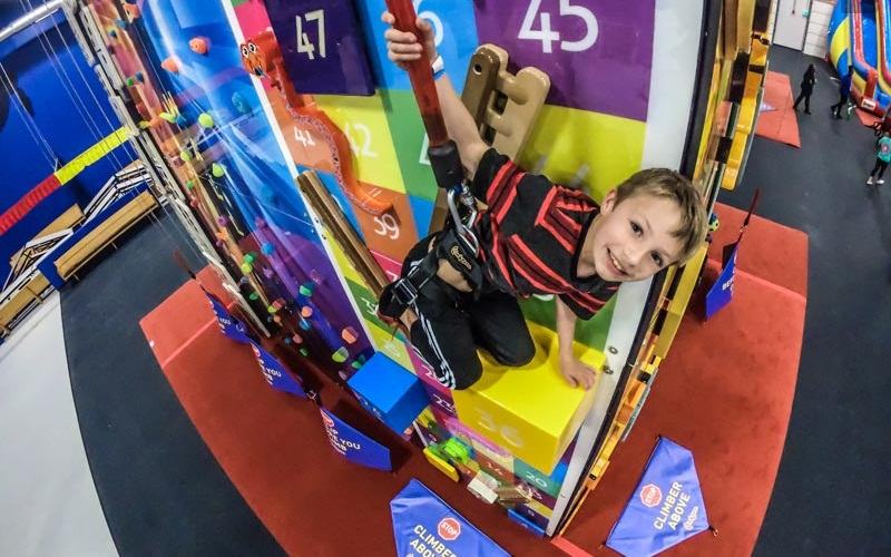 ClimbZone Kids Party Places in Howell NJ