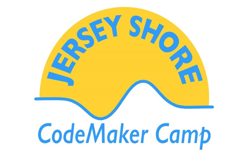 Image of the logo for Jersey Shore Codemaker Camp