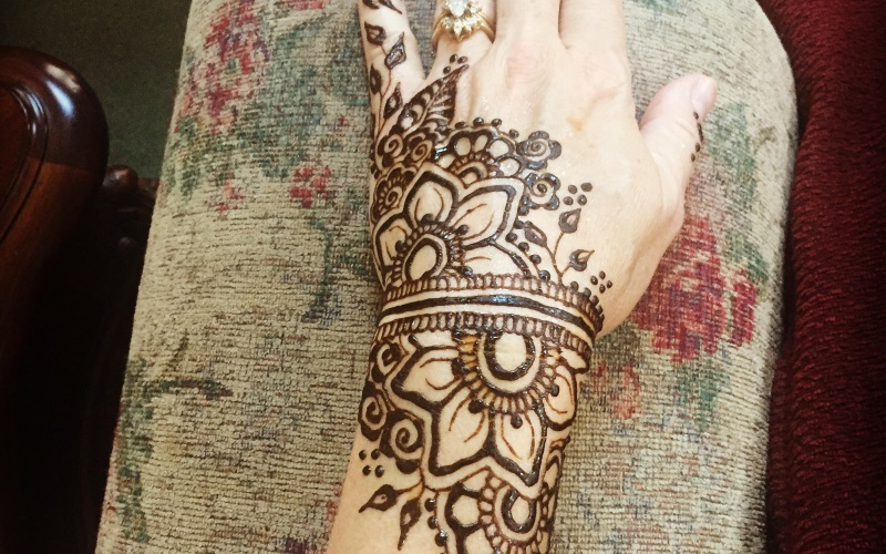 Color by Chris Henna Tattoo Artist in NJ