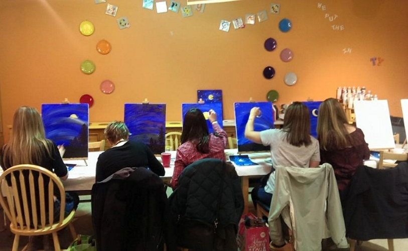 Color Me Mine Summit Walk In Art Centers in Union County New Jersey
