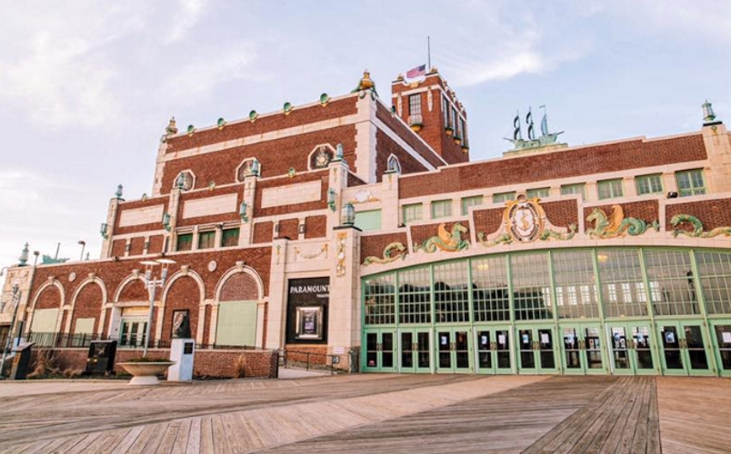 Asbury Park Boardwalk Guide Convention Hall