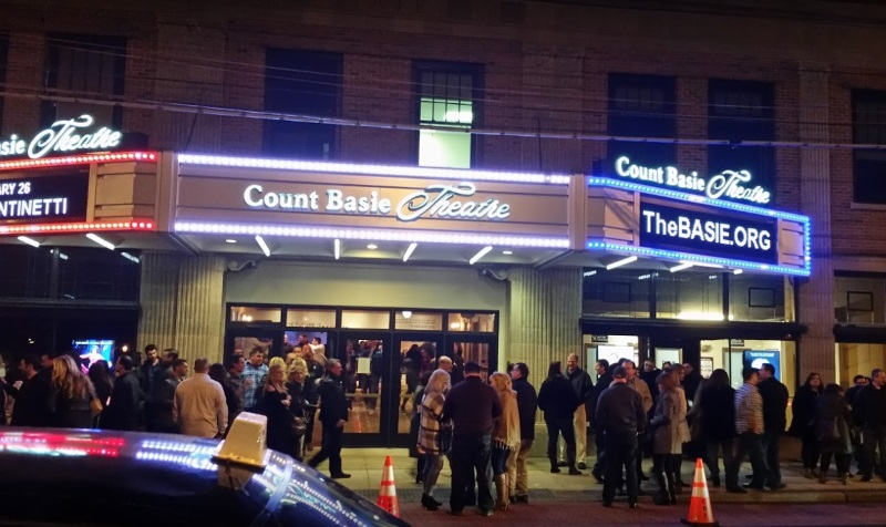 Image of Count Basie Theatre at Red Bank NJ