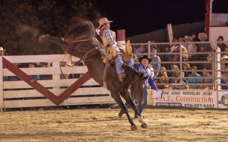 Cowtown Rodeo Top Attraction in Salem County NJ
