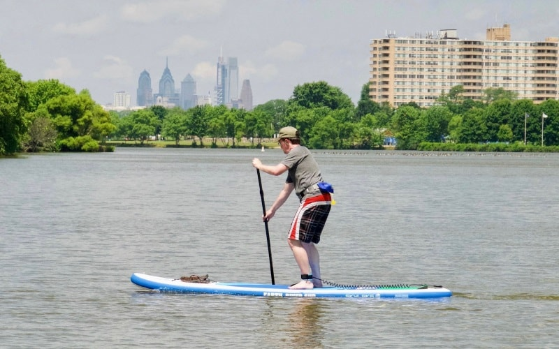 Crosswater SUP Paddle Boarding in NJ