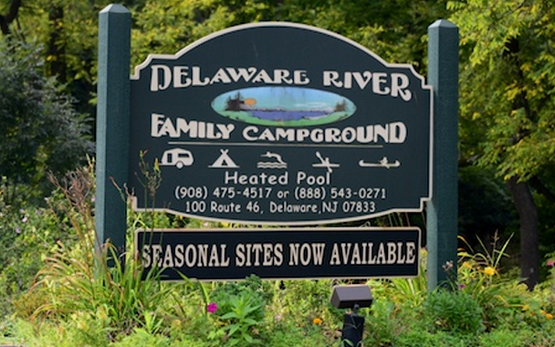 Delaware Family Campground Getaway Columbia NJ