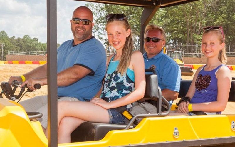 Diggerland USA unique amusement parks in Southern New Jersey
