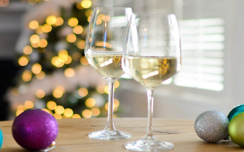 White wine is wonderful for a wine tasting at DiMatteo Winery in Atlantic County.