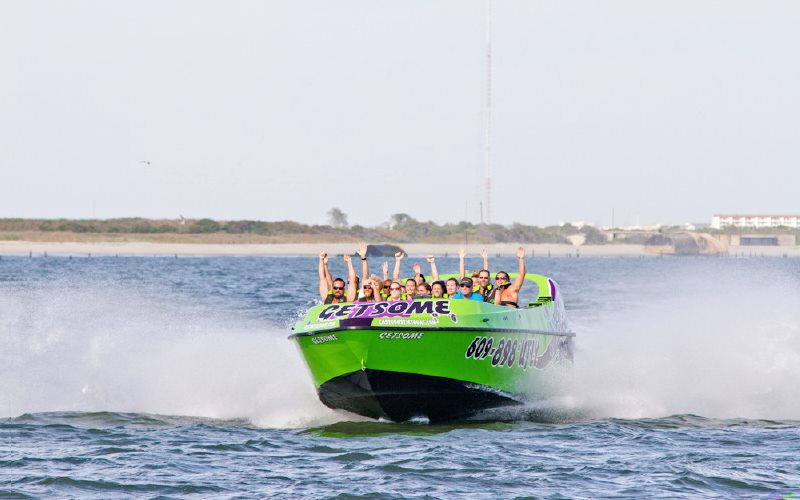 East Coast Jet Boat Adventures Jet Boat Rides in Southern NJ