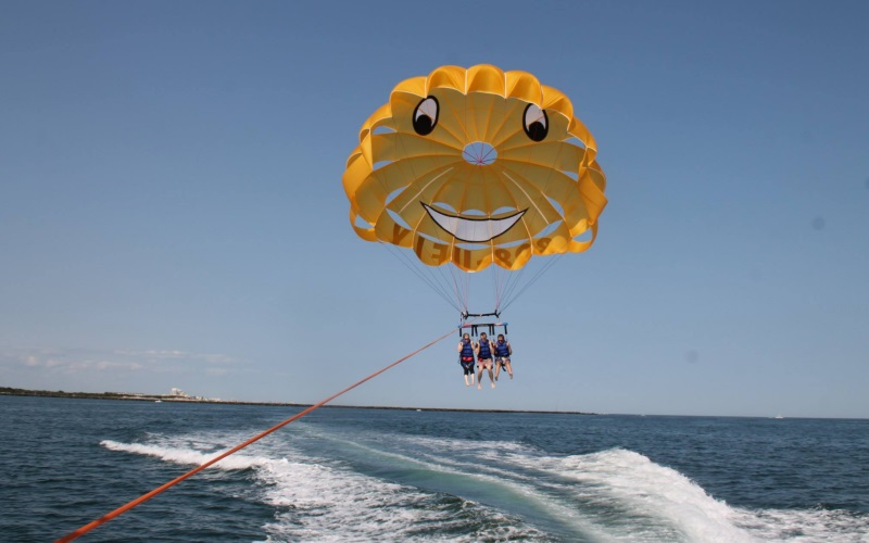 East Coast Parasail Top Attractions Cape May County NJ