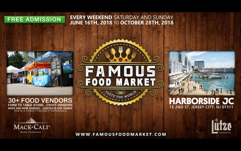 Famous Food Market Best Thing to do in Hudson County NJ