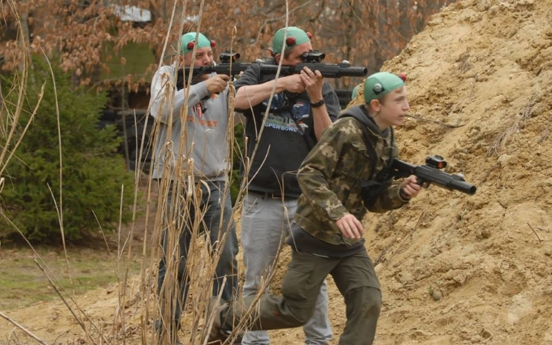 Fireball Mountain Outdoor Paintball in Central New Jersey