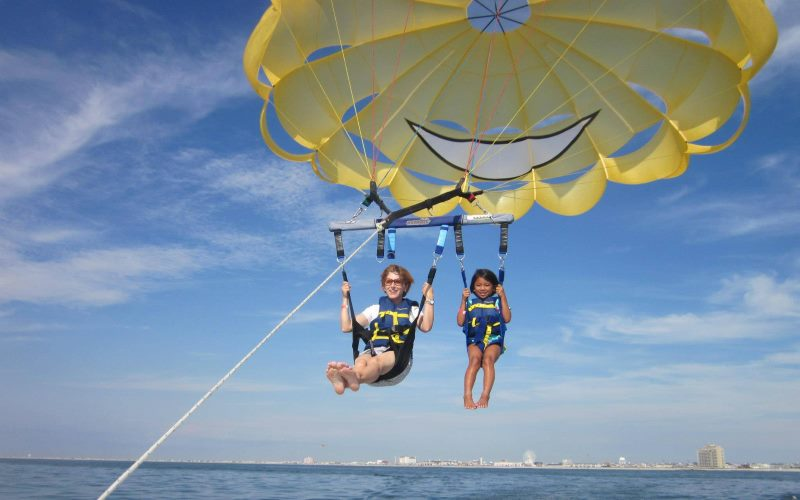 FlyOCNJ Parasail places to parasail in Southern NJ