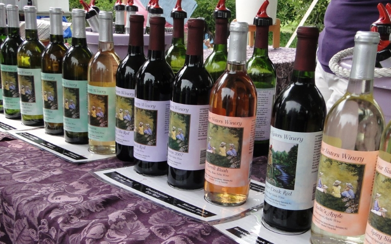 Four Sisters Winery Tours Northern Jersey