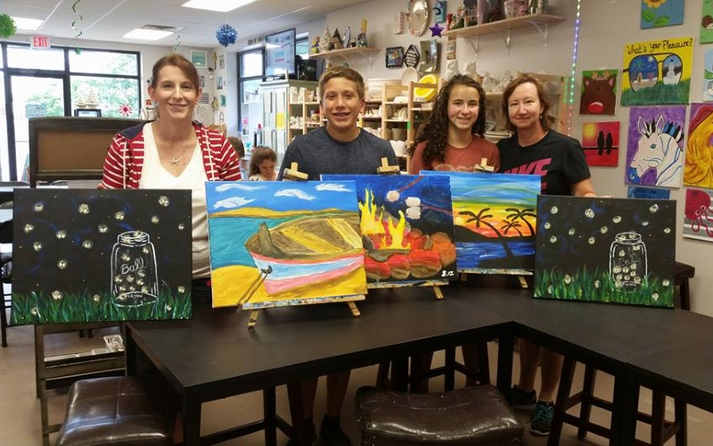 Gone Paintin' BYOB painting classes in Hunterdon County, NJ