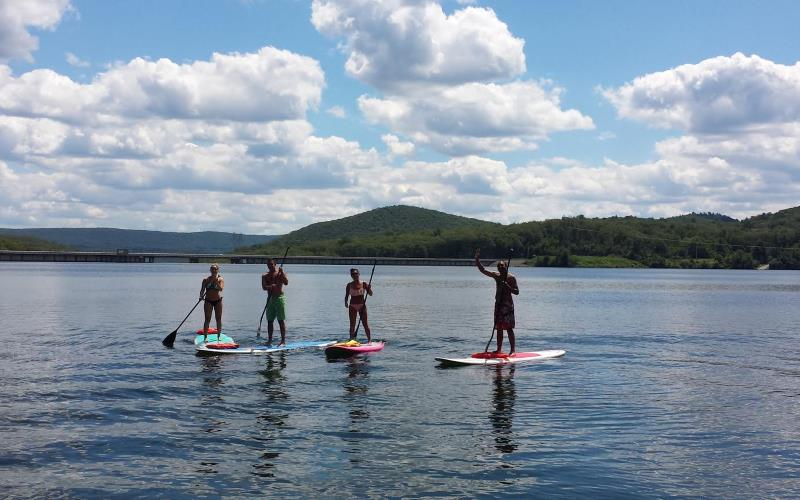 Greenwood Lake Paddleboards stand up paddle board rentals in Northern NJ