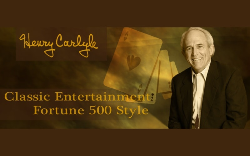 Henry Carlyle Professional Magicians in NJ