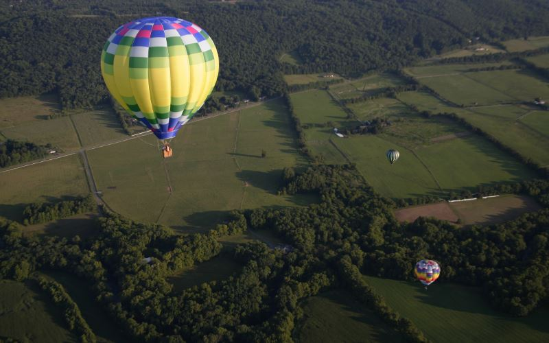Have Balloon Will Travel hot air ballooning in New Jersey