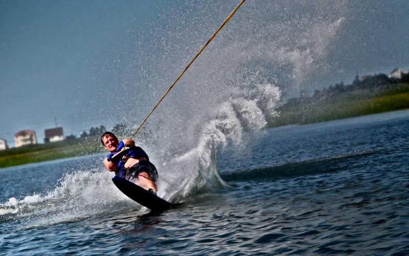 Island Watersports water skiing in Southern New Jersey