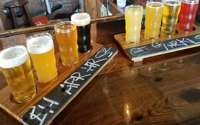 Make a pit stop at any one of the Jersey Shore's best breweries and enjoy a flight of NJ made beer.