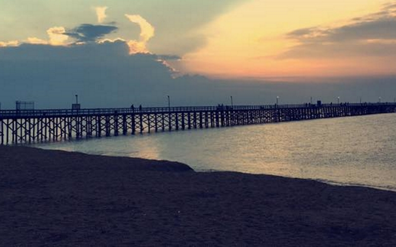 Keansburg Beach and Boardwalks in NJ Monmouth county