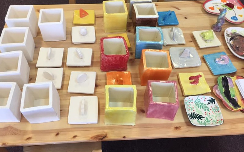Create different objects and creations at Make Me Take Me in Highland Park NJ!