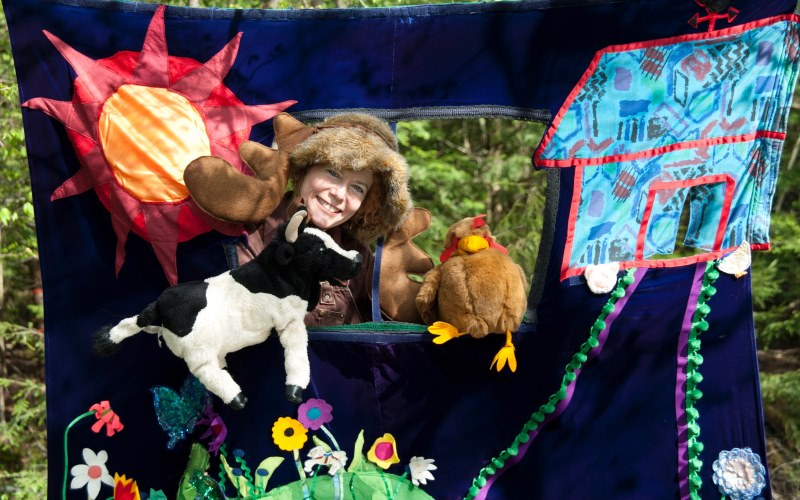 Marcia the Musical Moose Children's Party Entertainers Puppeteers in NJ