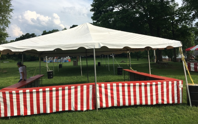 Get More Covered Space for Your Party in NJ | McManus Amusements