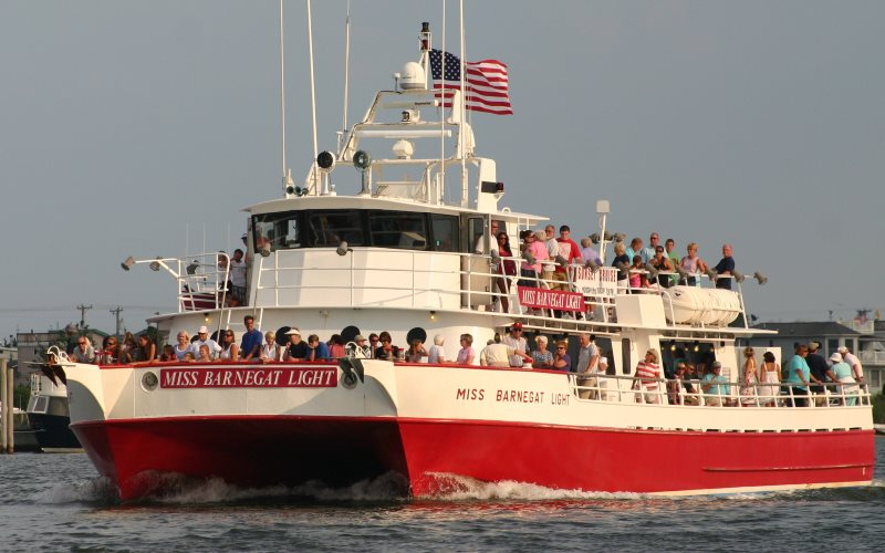 Miss Barnegat Light Sightseeing Cruise Charters in Central NJ