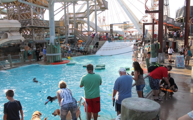 Morey's Pier Activity Pool Attractions Cape May County NJ