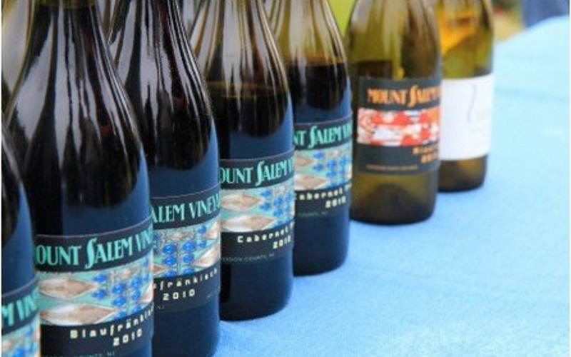 Image of wine bottles