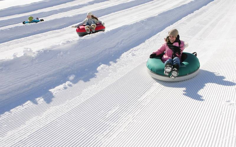 Mountain Creek places to go snow tubing in Sussex County NJ