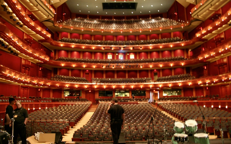 New Jersey Performing Arts Center Theater Newark