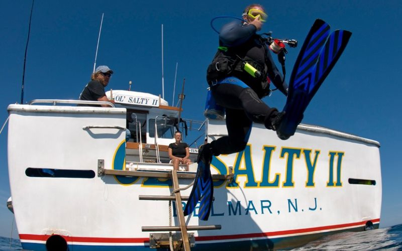 Nick Caruso Enterprises Inc Scuba Diving Charters in Monmouth County New Jersey
