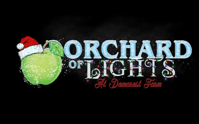 Orchard of Lights Christmas Event at Demarest Farms in Northern NJ