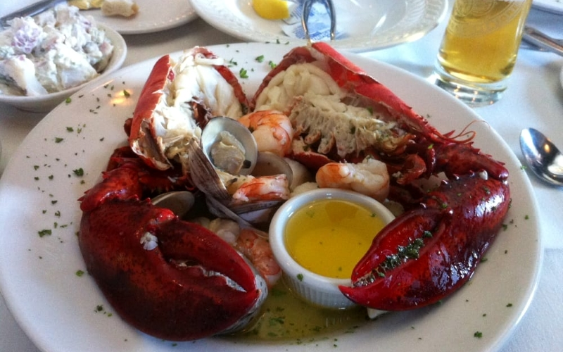 Oyster Bay Steak & Seafood Best Restaurants Cape May NJ