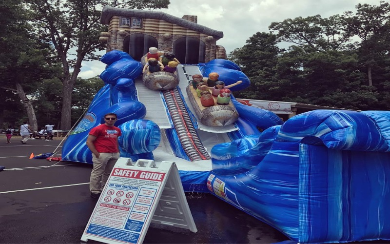Party Perfect Rentals NJ Monmouth County NJ Inflatable Water Slides in NJ