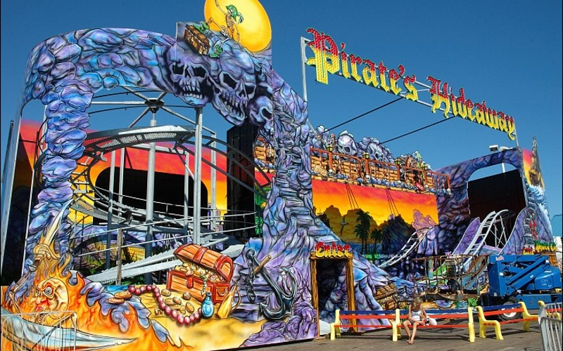 Pirate's Hideaway Boardwalk Guide Seaside Heights NJ