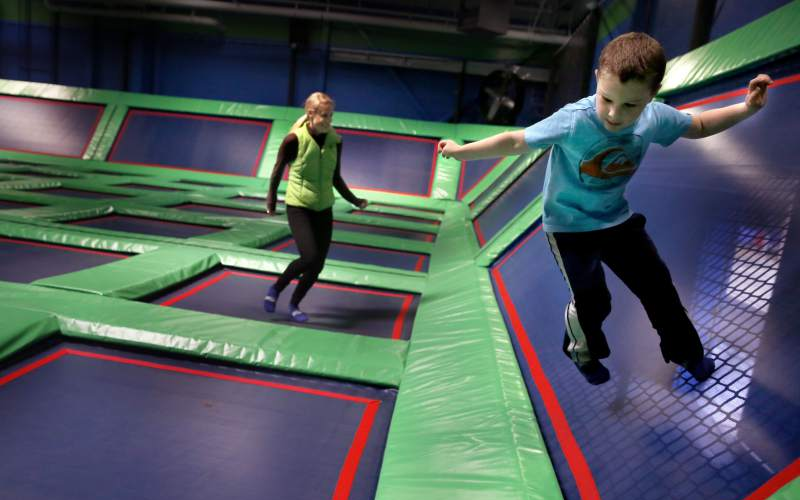 Rebounderz Indoor Trampoline Arena Kids Things to Do Central NJ