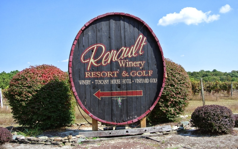 Renault Winery Resort and Golf Getaways Egg Harbor City NJ