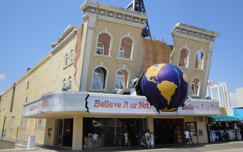 Ripleys Believe it or Not Top 50 Activities for Kids in Atlantic City