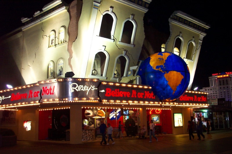 Ripley's Believe it or Not Atlantic City Jersey Shore Attractions