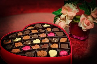 Lovely box of chocolates in a heart shaped box. A great gift for the Valentine's holiday season