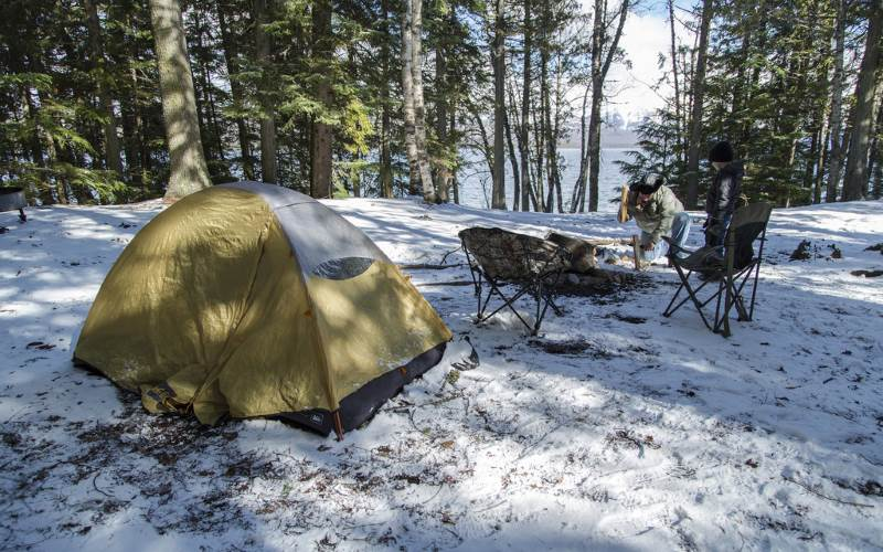The Best Winter Camping in New Jersey