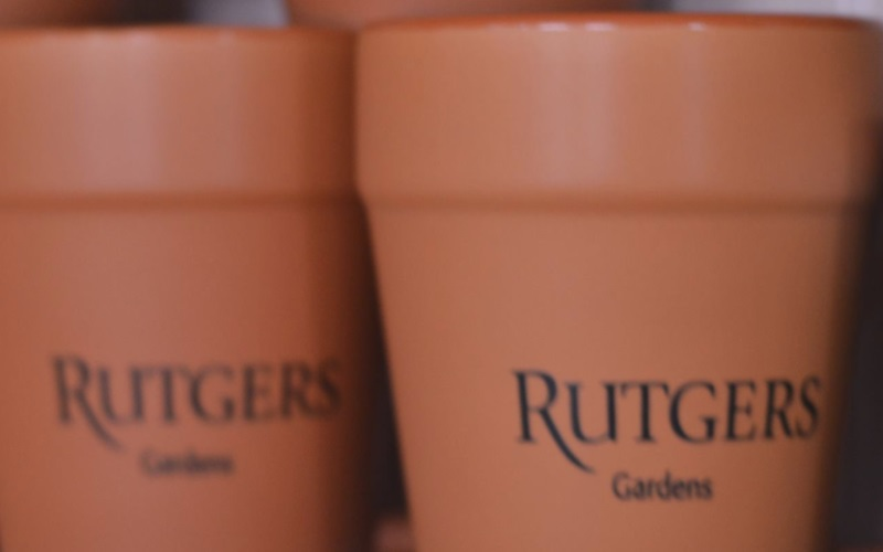 Rutgers Gardens is a fabulous place in NJ to sit back and watch the scenery - for free!