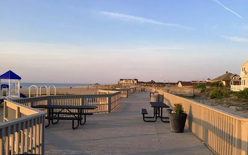 Sea Bright Boardwalk Attractions Monmouth County NJ