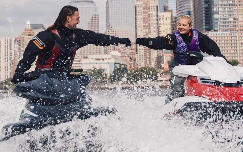 Sea The City Jet Skiing Corporate Team Building Activity in Jersey City, NJ