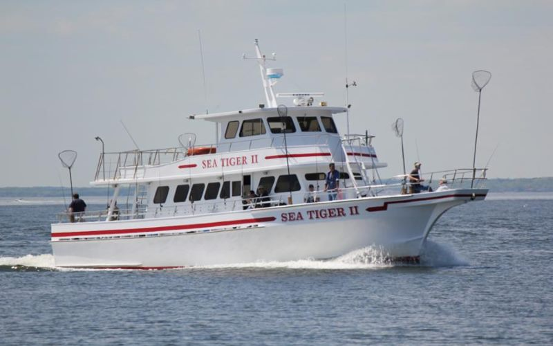 Sea Tiger II fishing party boats in Monmouth County NJ