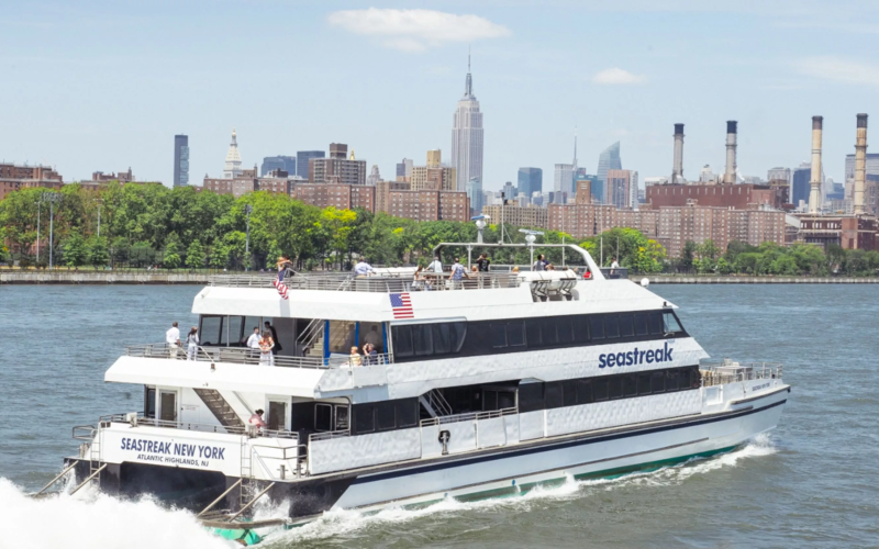SeaStreak Ferry Top 50 Attractions for Kids in Central Jersey
