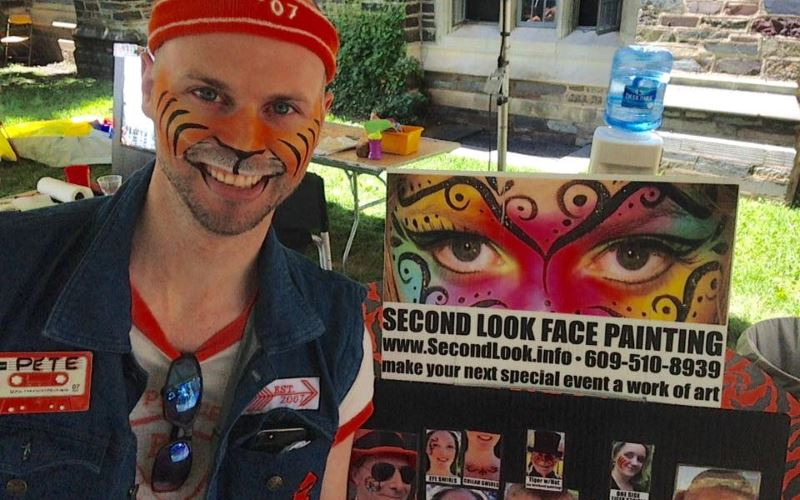 Second Look Face Painting Party Entertainers in New Jersey